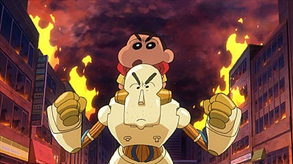 Crayon Shin Chan The Movie Battle of the Robot